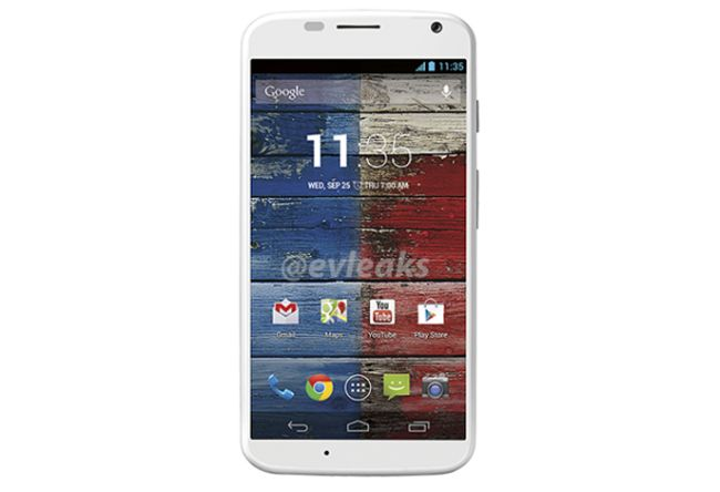 Motorola Moto X press shots were leaked by the popular Twitter handle @evleaks.
