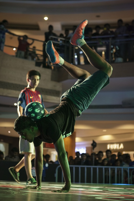 Krishna will now compete in the Red Bull Street Style World Finals 2013 in Japan!