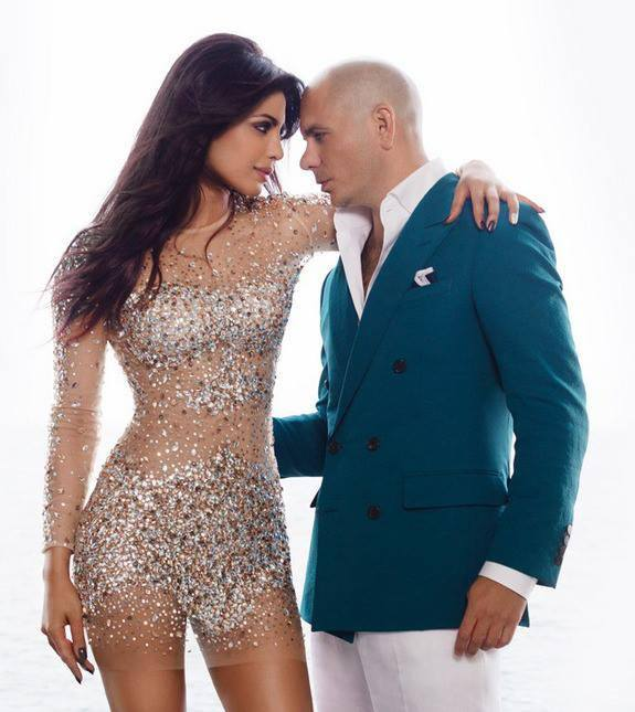 Priyanka Chopra, Pitbull