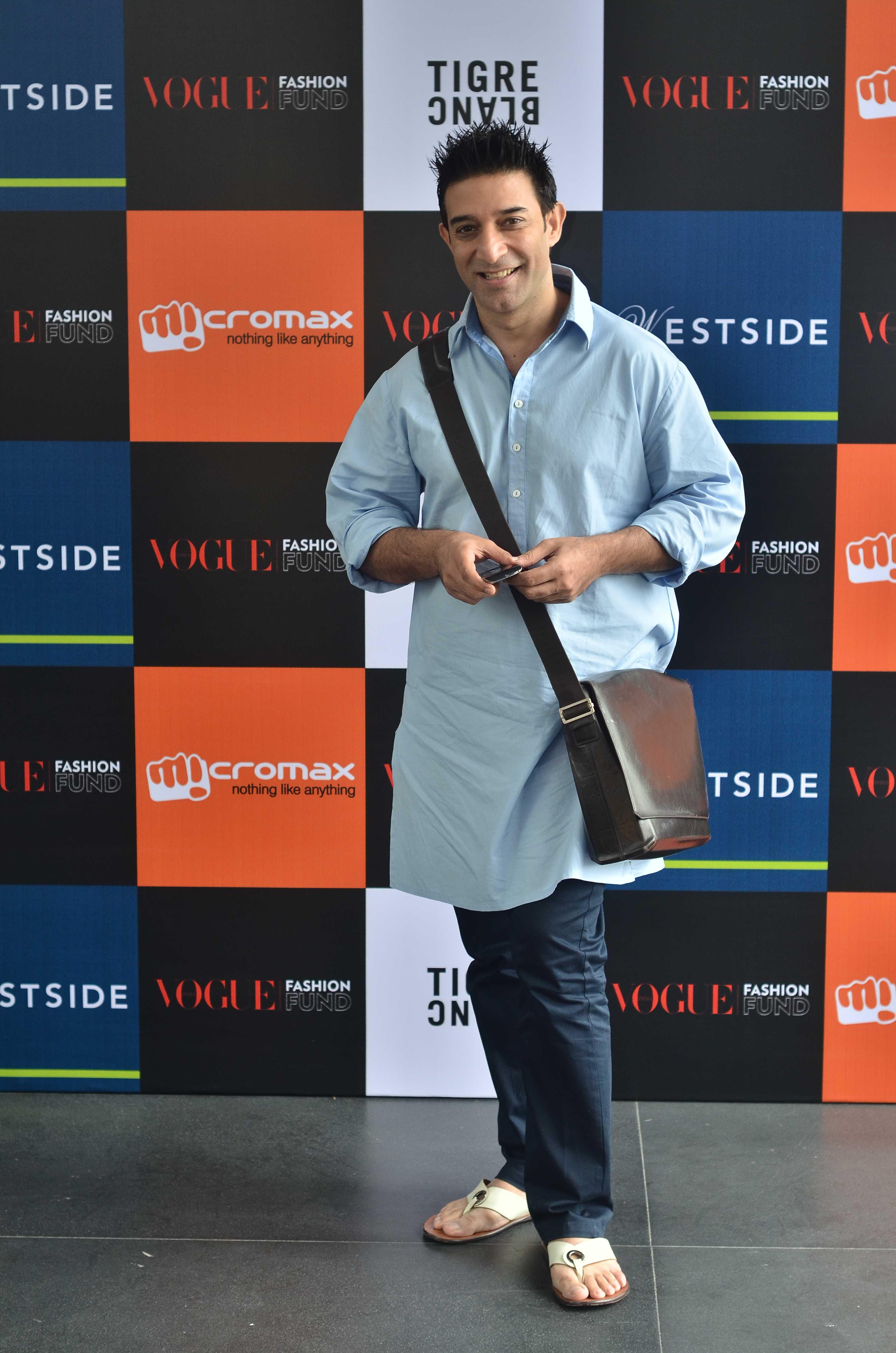 Suneet Varma panelist of Vogue Fashion Fund 2013