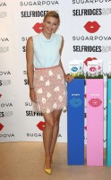 Maria Sharapova Promotes Sugarpova in London