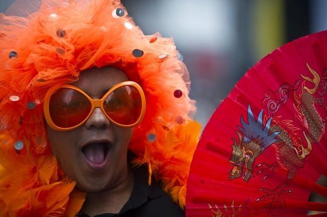 Colourful Sao Paulo Gay Pride