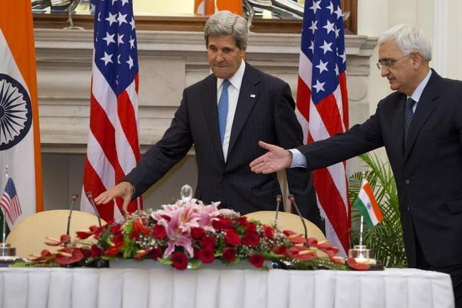 John Kerry, Salman Khurshid