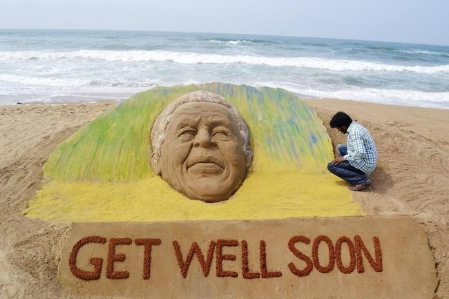 Get Well Soon Nelson Mandela