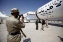 Gaddafi's Private Plane
