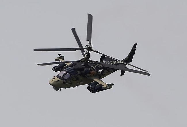 Kamov Ka 52 Alligator Helicopter