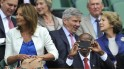 Michael and Carole Middleton, Mo Farah