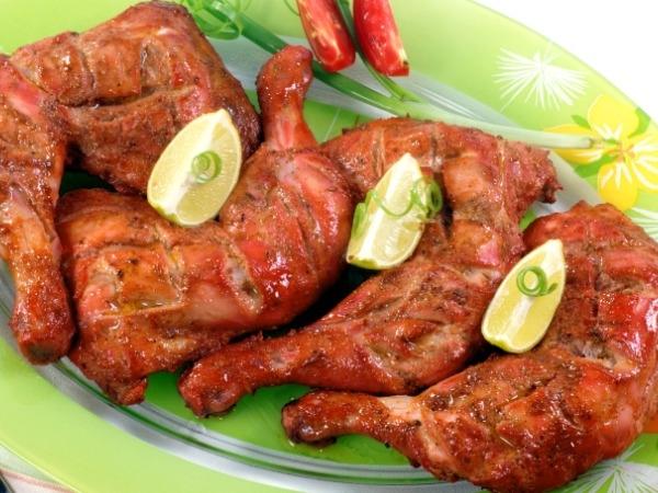 Healthy Food: Best Snack Under 100 Calories:Roasted chicken