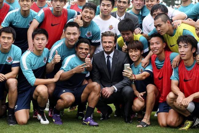 David Beckham Visits China