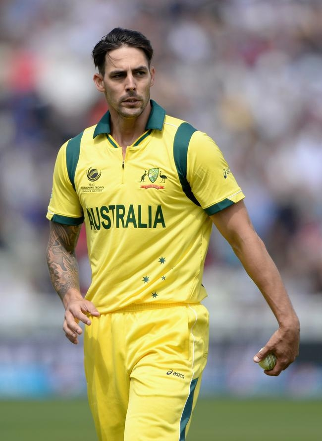 Mitchell Johnson Hairstyle Mitchell Johnson