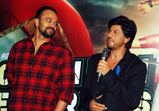 Rohit Shetty, Shah Rukh Khan