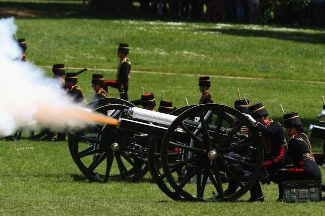 Gun Salutes To Mark Coronation