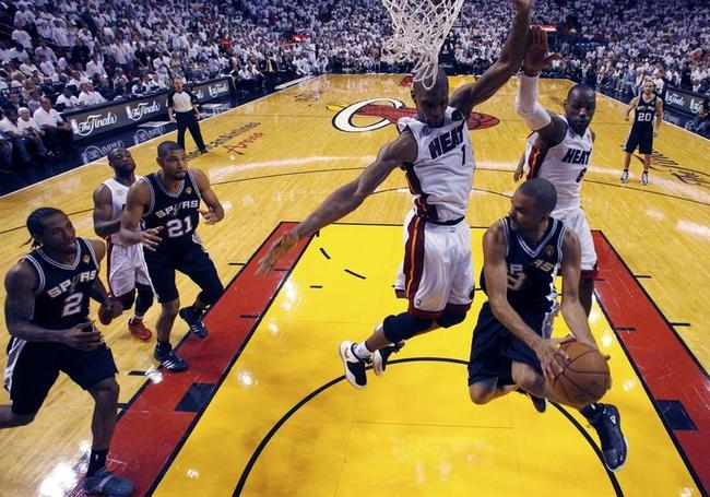 San Antonio Spurs v Miami Heat - Game 6