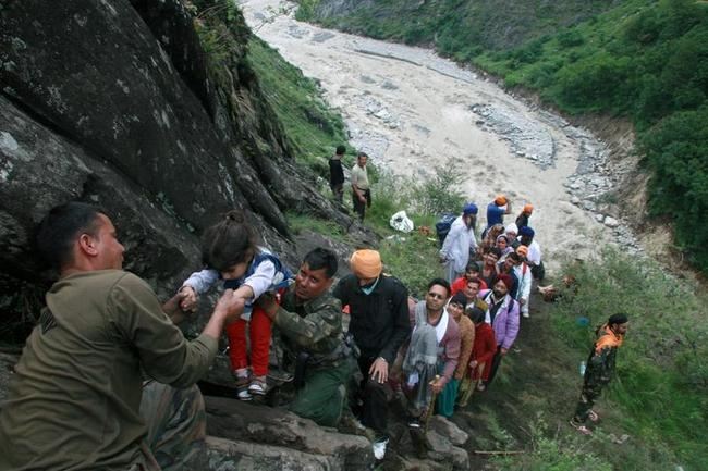 Rescue operations in Uttarakhand