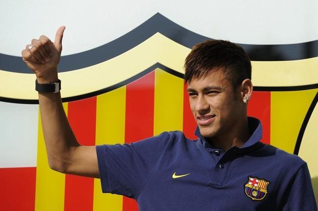 Neymar at Camp Nou