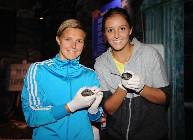 Kirsten Flipkens and Laura Robson