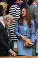Pippa Middleton and Prince Michael of Kent