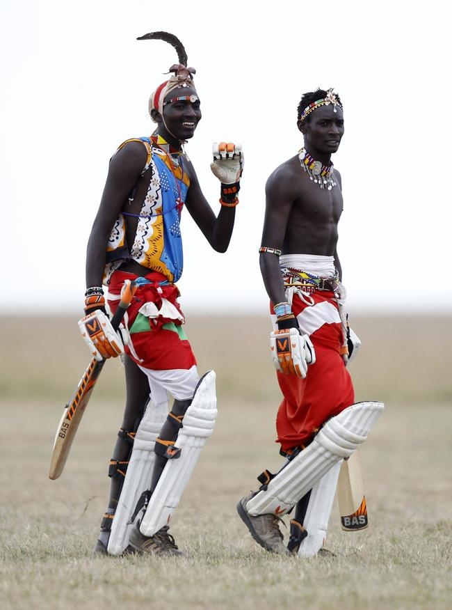 Maasai Cricket Warriors Play T20