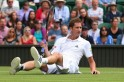 Players Slipping Off Wimbledon