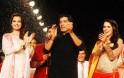 Dia Mirza, Manish Malhotra, Neha Dhupia