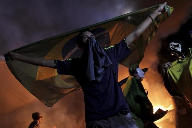 Rage in Brazil