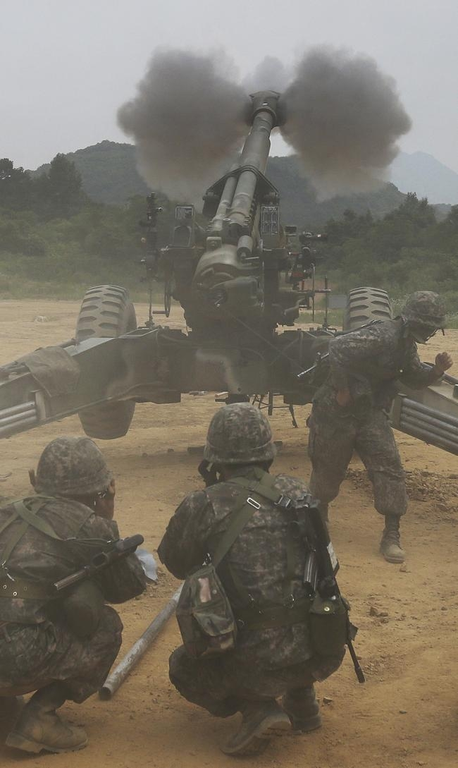 South Korean Live Firing Drill