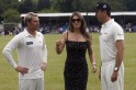 Elizabeth Hurley Officiates Charity Match