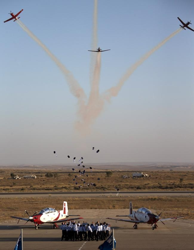 Israeli Air Force Graduation Ceremony