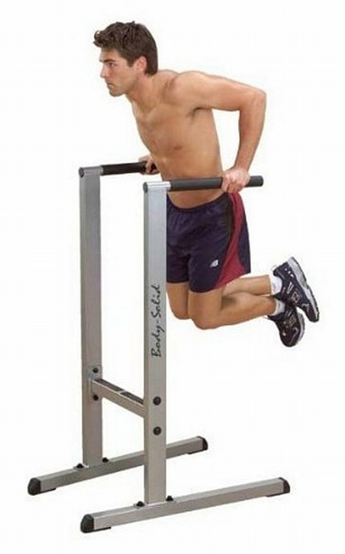 20 Upper Body Workouts for Men Parallel bar dip