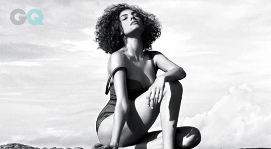 Indrani Dasgupta's scorching-hot beach photoshoot for GQ magazine's June issue  Courtesy: GQ