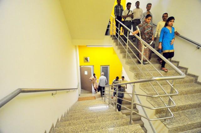 Swarnim Sankul building at Gujarat Assembly in Gandhinagar.