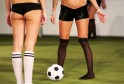 'Naked' Women Football