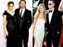Brad Pitt, Angelina Jolie & Jennifer Aniston