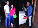 Imran Khan with wife Avantika and Varun Dhawan