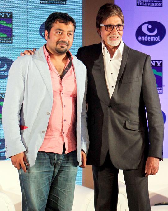 Anurag Kashyap, Amitabh Bachchan