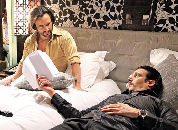 Saif Ali Khan, Jimmy Shergill