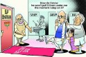 Narendra Modi and L K Advani cartoonNarendra Modi and L K Advani cartoon
