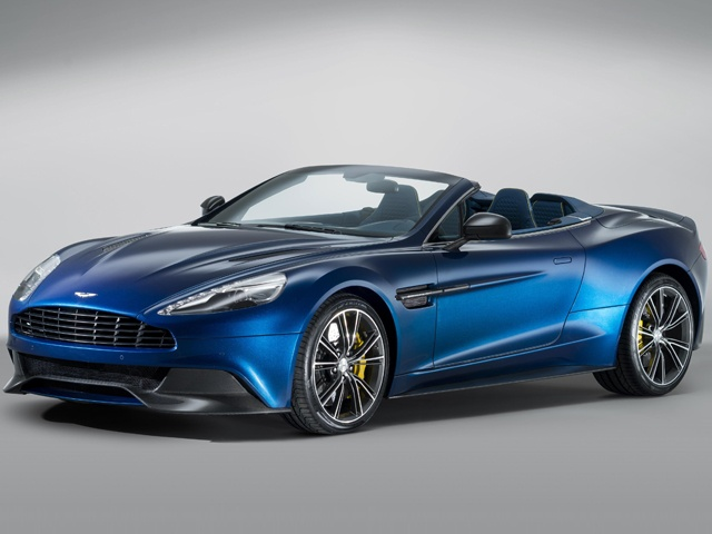 The Aston Martin Vanquish Volante is the first fully carbon fibre-skinned Volante in the brand's 100- year history, while also being the stiffest Volante body structure yet created by the engineering team at Aston Martin's global HQ in Gaydon, Warwickshire, England