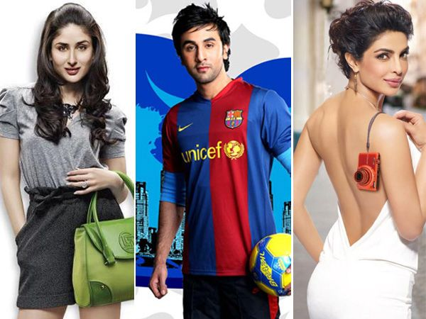 bollywood celebrity endorsers