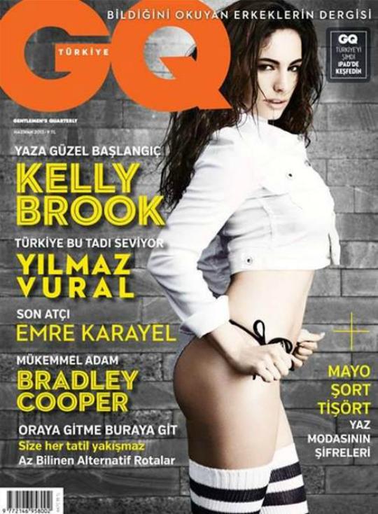 British model and actress Kelly Brook