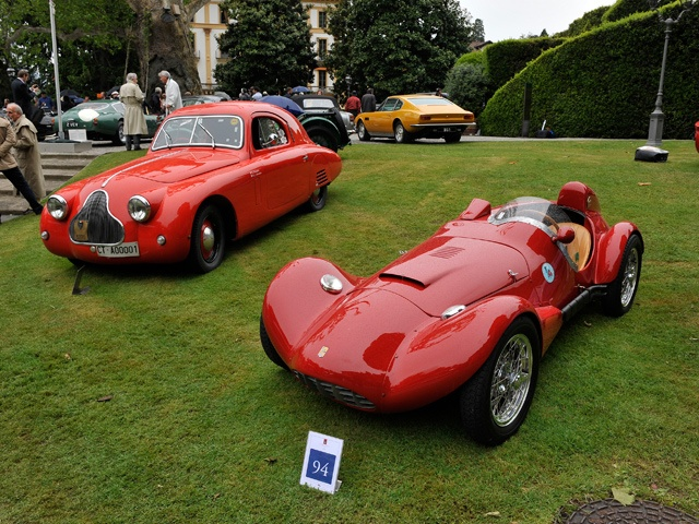 Historic Cars at the Concorso d'Eleganza Villa d'Este 2013