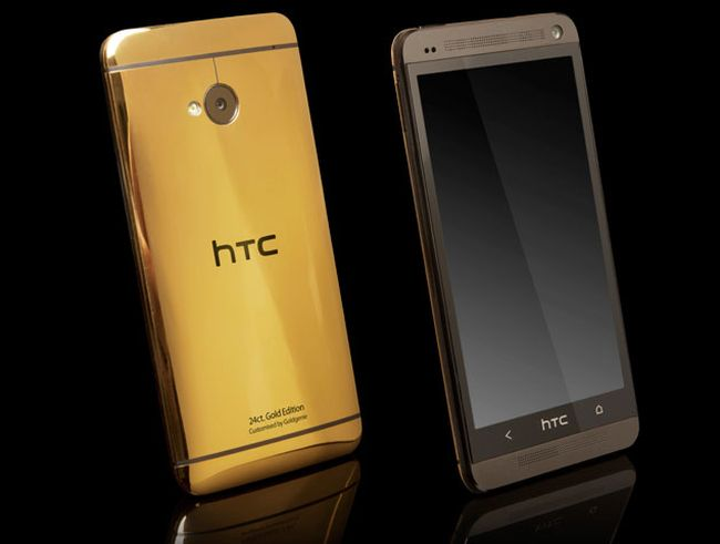 HTC One Gold edition is designed by GoldGenie and is priced at £1895.