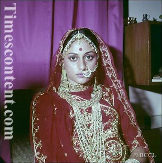 AMITABH BACHCHAN, JAYA BACHCHAN WEDDING