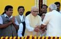 LK Advani greets Gujarat CM Narendra Modi