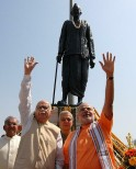 Narendra Modi along with L K Advani
