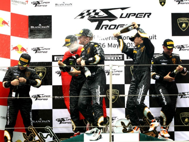 The Lamborghini Blancpain Super Trofeo Asia Series had its first round held at the Shanghai International Circuit from May 25-26,2013