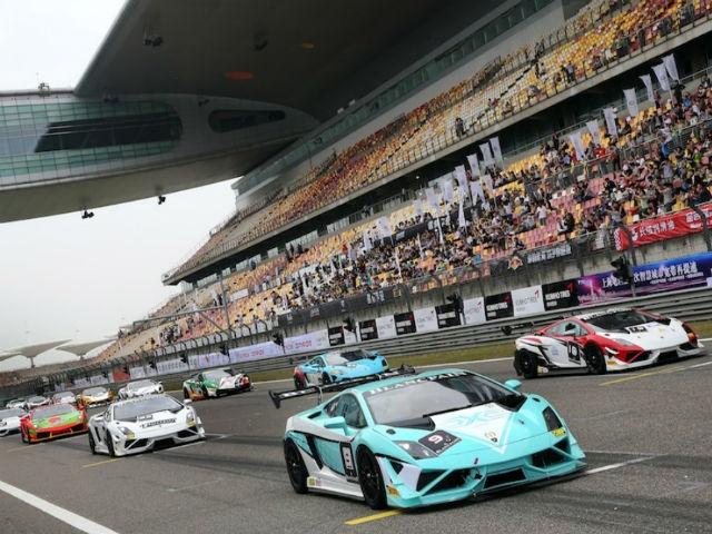 Lamborghini Blancpain Super Trofeo Asia Series Shanghai Round kicks off