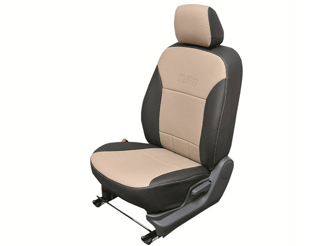 Faux leather seat covers on the limited edition Maruti Suzuki Ritz @ Buzz