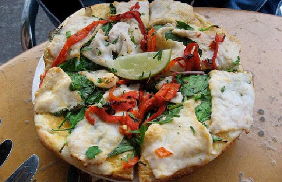 Crocodile and Kangaroo Pizza