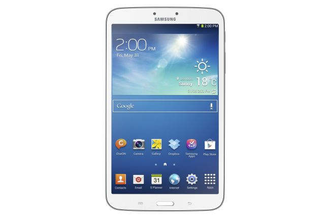 Samsung Galaxy Tab 3 8-inchesruns on Android Jelly Bean 4.2.